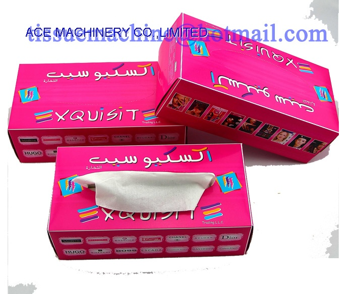 Cheap but High Quality Interfold Box Facial Tissue Paper Made from Bamboo or Wooden Pulp with Customized Printed Embossed or lamination