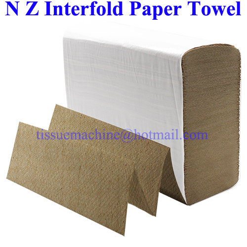 Launched Biodegradable Disposable Multifold Z V N Fold Interfold Paper Hand Towel Tissue Kraft Recycled White Virgin