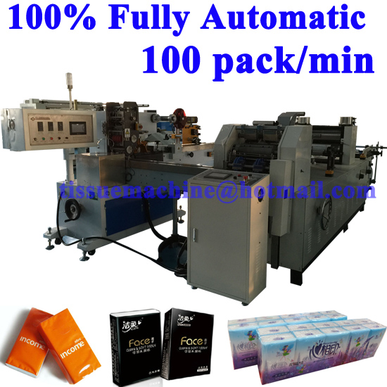 full automatic pocket tissue line