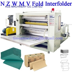Lamination Printing N Z W M Multifold Hand Towel Machine Interfold