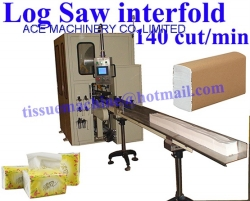 Facial Tissue V N Z Interfold Paper Hand Towel Log Saw Machine