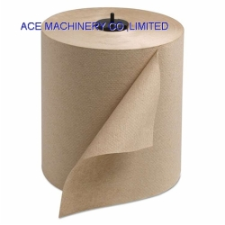 Eco-friendly Brow Kraft Recycled or Virgin Wooden Pulp Hand Roll Towel Centerpull Centrefeed Tissue