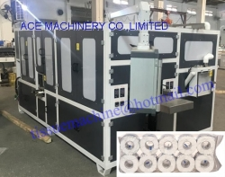 4-12 roll/pack 100% Fully Automatic Multi Toilet Rolls Bundling Wrapper Machine Packing Paper Tissue