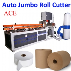 Automatic Industrial Jumbo Maxi Roll Band Saw Cutting Machine