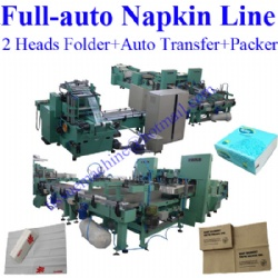 Fully Automatic Napkin Paper Machine with Auto Transfer to Packing Machine